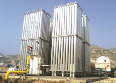烟台益华能源撬装LNG气化站